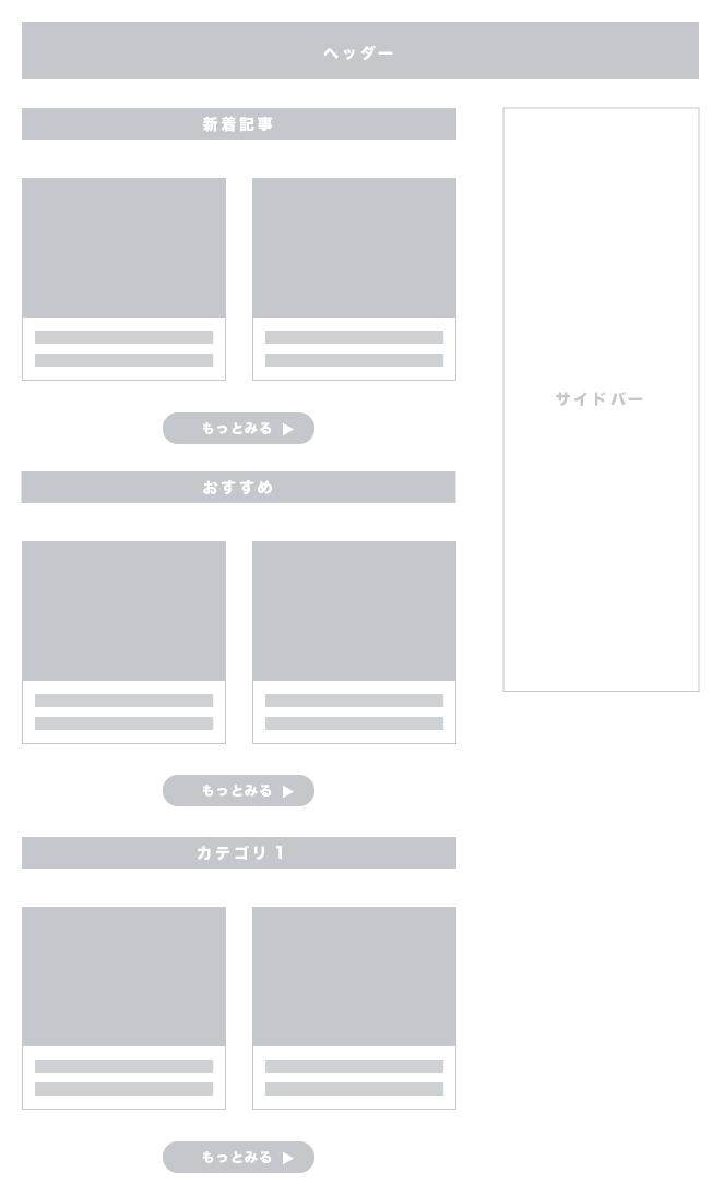 JINサイト型カスタマイズサンプル